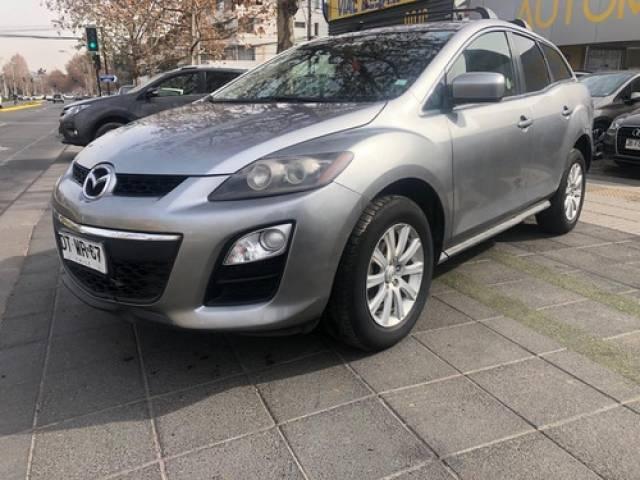 Mazda CX-7 2.5 AUT 2012 plateado plata $6.200.000