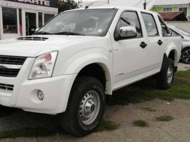 Chevrolet Dmax E4 2.5 Pick-Up diésel blanca Valdivia