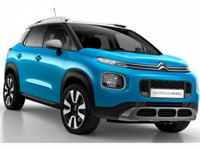 Citroën C3 Citroen C3 Aircross 1.2 PureTech 110 S&S EAT6 Shine 2020 Delantera $16.590.000